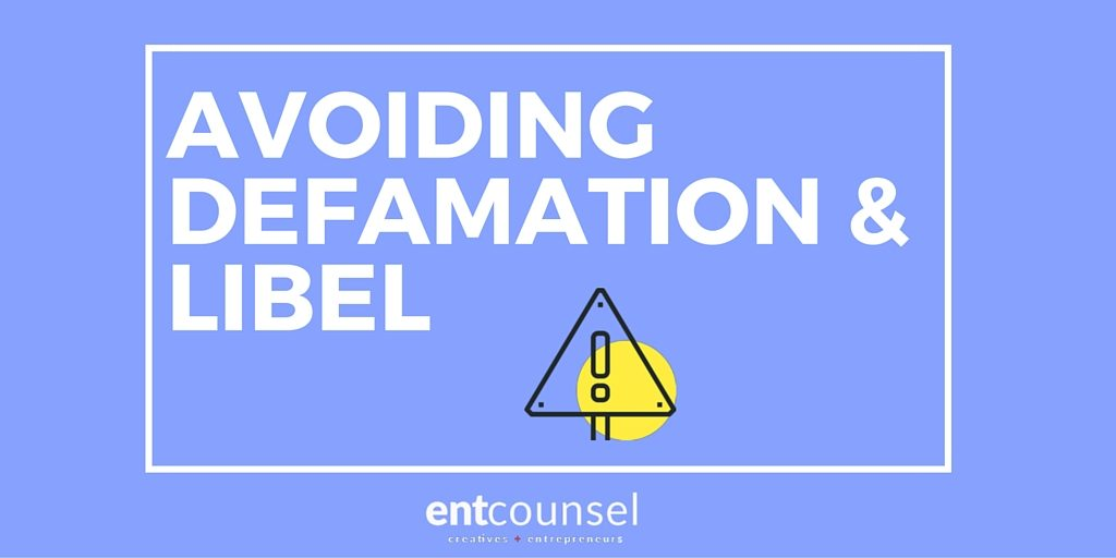 The Elements of Defamation