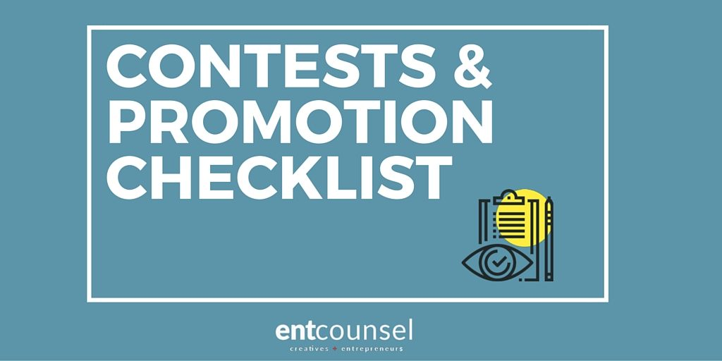 contests checklist downloadable contest rules template
