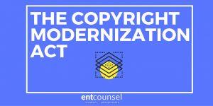 The Copyright Modernization Act