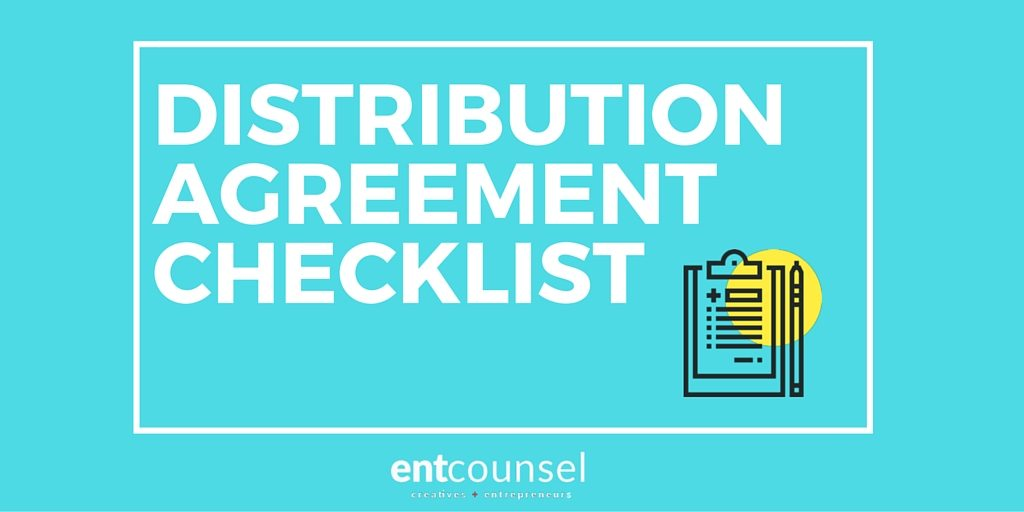 Distribution Agreement Checklist