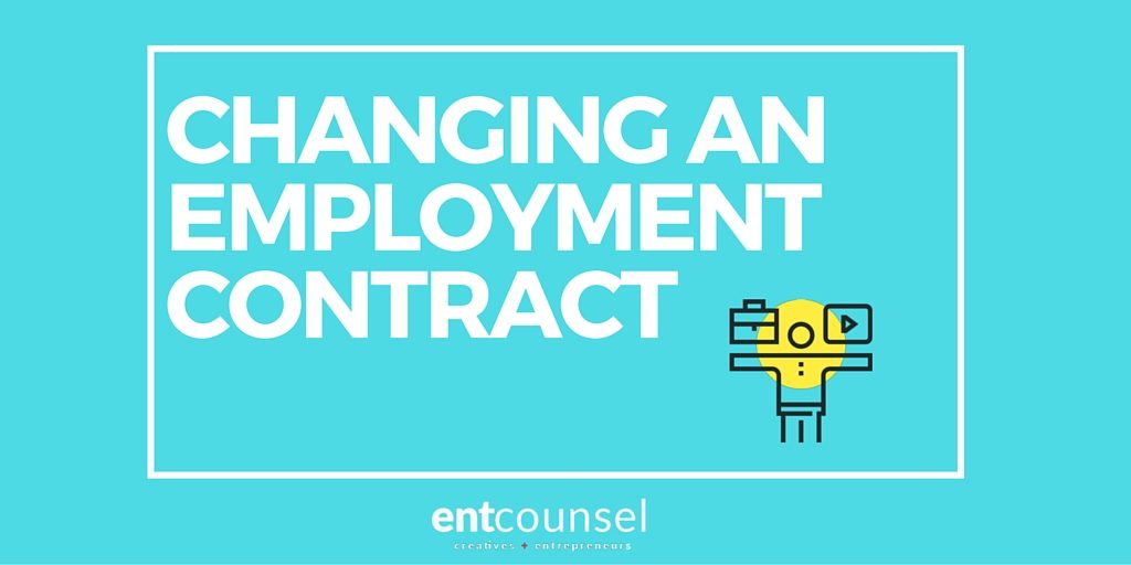 Changes to Employment Contract After Being Hired