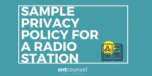Sample Privacy Policy for a Radio Station
