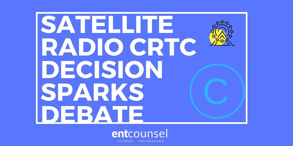 Satellite Radio CRTC Decision