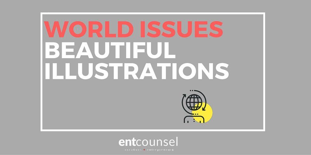 Beautiful Illustrations On World Issues