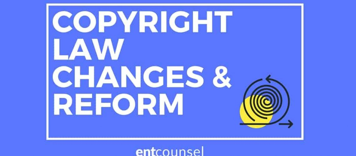 COPYRIGHT LAW CHANGES