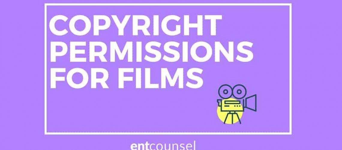 copyright permission for film